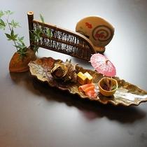 *料理(夏)/味はもちろん見た目も楽しんでいただけるお料理です。
