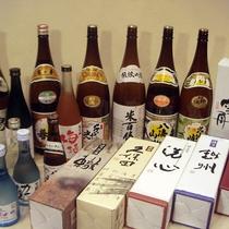 *新潟の誇る地酒は常に15種類以上取り揃えております!