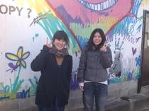 大学一回生の友達2人で直島&シーズンに!