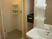 女性専用シャワー洗面トイレ