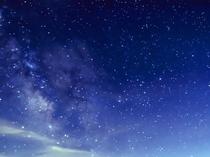 【澄み切った夜空の星々】