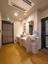 1階 人口温泉 準天然 光明石温泉◆女性更衣室◆