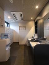 1階 人口温泉 準天然 光明石温泉◆男性更衣室◆
