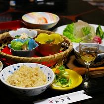 *マクロビオティック料理一例/温泉とマクロビオティックでカラダの外も中からもキレイに☆