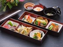 宴会料理例(松華堂弁当)