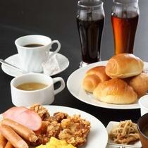 朝食一例洋食