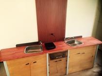 宿泊者様が自由に使えるオープンキッチンです。