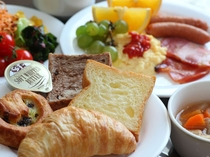 洋風の朝食スタイルにも。