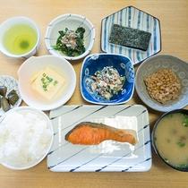 *【朝食一例】地魚が旨い!身体に優しいヘルシーな和朝食