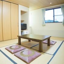 *【お部屋一例】シンプルな構造の和の客室