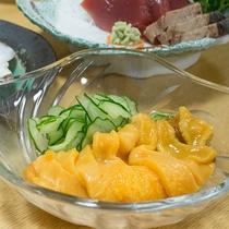 *【ご夕食一例】獲れたて新鮮魚介類