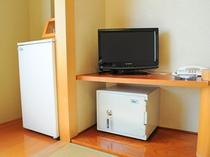 【客室備品】冷蔵庫など