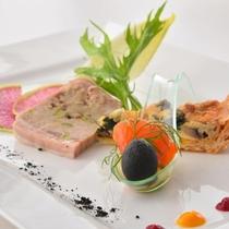 【夕食例】料理長のおすすめ!フレンチのプチコース