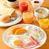 朝食ビュッフェイメージ 洋食