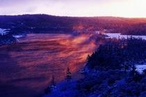 初冬の八幡沼