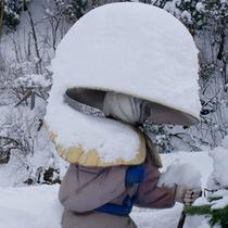 親不知の冬景色★一面銀世界