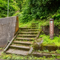 「栂海新道」親不知は北アルプスが日本海に落ち込む場所ここから長野県上高地まで登山道が続いています。