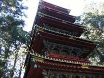 ≪日光世界遺産:東照宮:五重塔≫