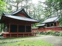 ≪日光世界遺産:本宮神社:拝殿:本殿≫