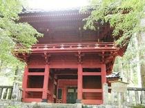 ≪日光世界遺産:滝尾神社:楼門≫