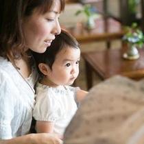 赤ちゃんも大歓迎です(^^)