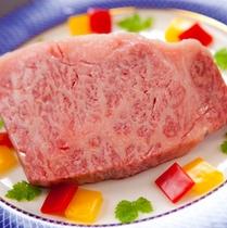 黒毛和牛の豊後牛ステーキ