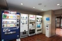 館内自動販売機コーナー