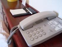 客室電話機