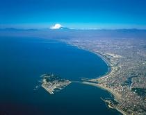江の島空撮