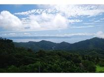 伽藍山から見た宇和海