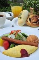 朝食は・・・