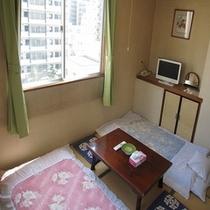 本館一般和室6畳寝室