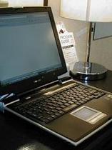 レンタルパソコンあります(1泊¥1000)