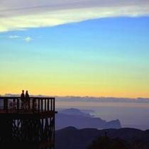 朝里岳パノラマゴンドラ スカイデッキ