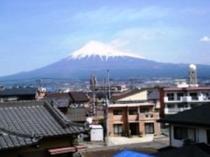 客室からの富士山展望