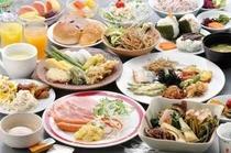■朝食:和洋50種メニューの朝食バイキング(イメージ)