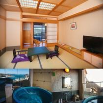 露天風呂付き客室4