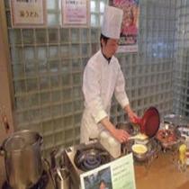 朝食 オムレツ・卵焼きは注文後調理致します。