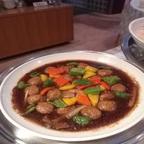 朝食 中華風肉団子
