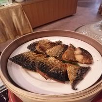 朝食 日替わり焼き魚