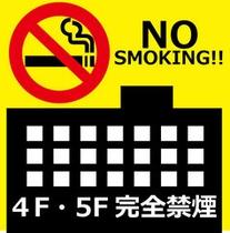 禁煙ルーム完備