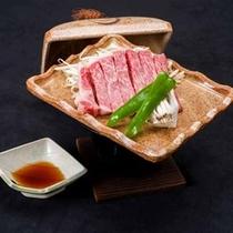 *【夕食一例】北陸のご当地牛「能登牛」!一番良いランクをご用意しております!