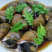 *お料理一例  あずき貝