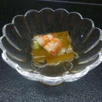 *料理一例:素麺南京