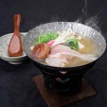 *【夕食一例】ふぐの小鍋♪