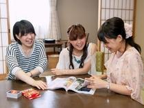 和室で女子会