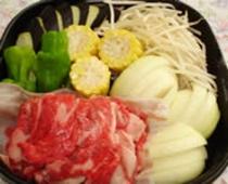 バーベキューオプション・牛肉3人前セット(イメージ)
