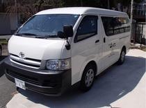 当館送迎車 15:00~19:00 伊豆長岡駅までお迎えに上がります