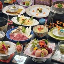 *桜海老の釜飯とお刺身会席お料理一例