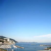サンミ屋上からの海風景